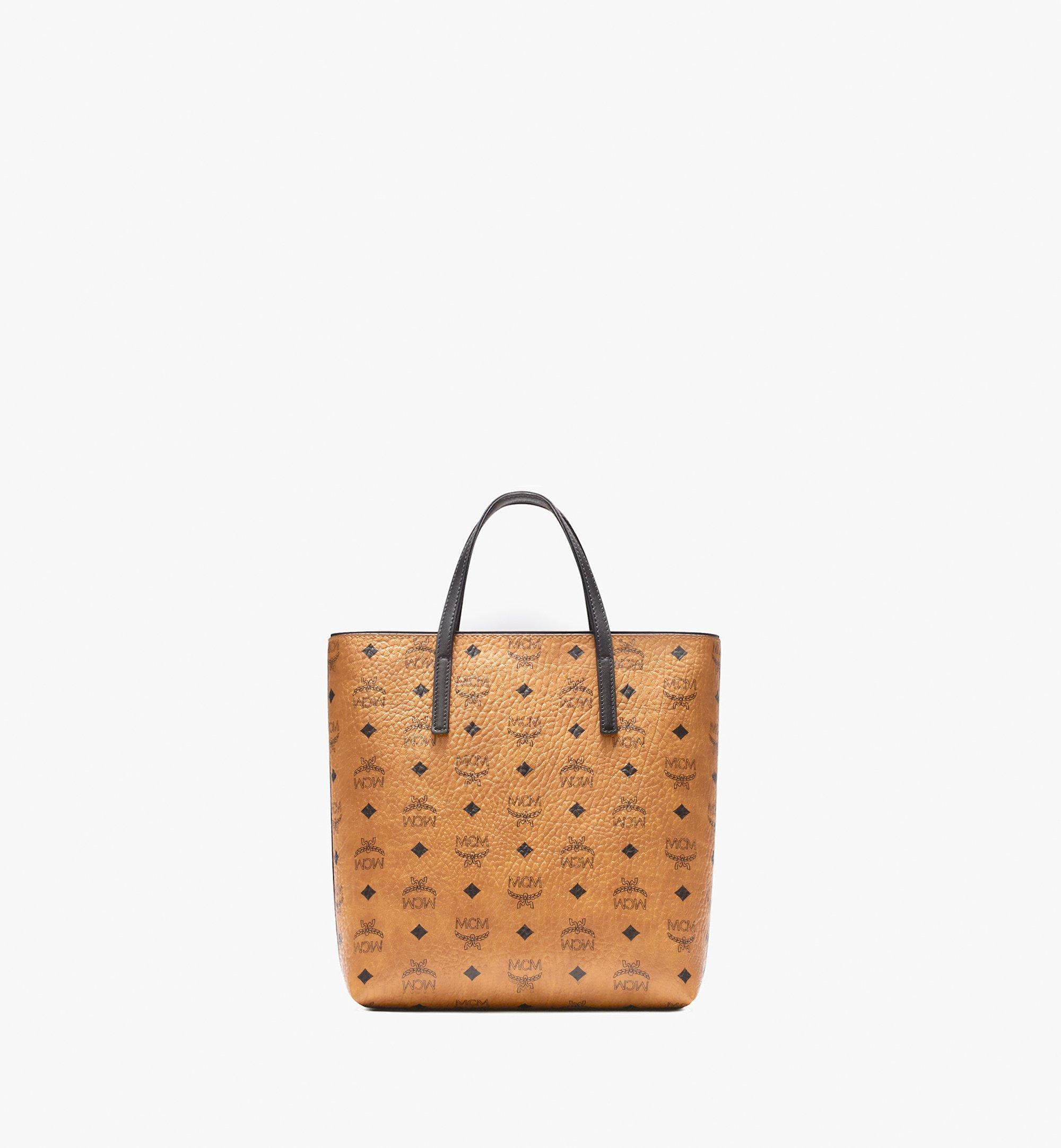 MCM 안야 쇼퍼 Cognac MWP9AVI77CO001 Alternate View 3