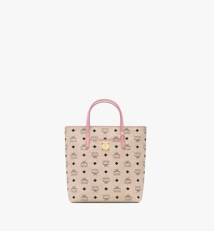 MCM 안야 쇼퍼 Beige MWP9AVI77IG001 Alternate View 1
