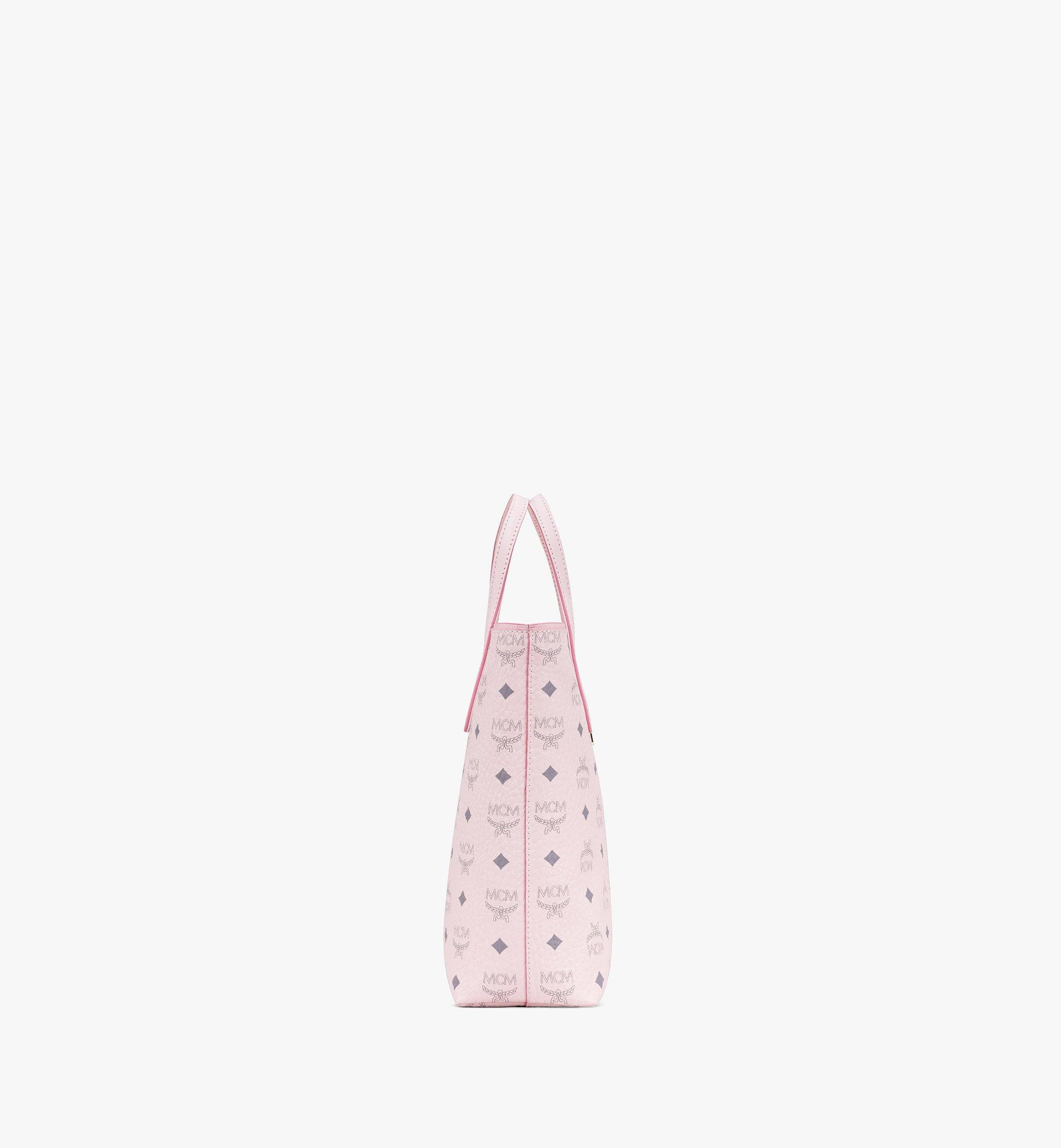 MCM Visetos 系列的 Anya Shopper 包款 Pink MWP9AVI77QH001 更多視圖 1