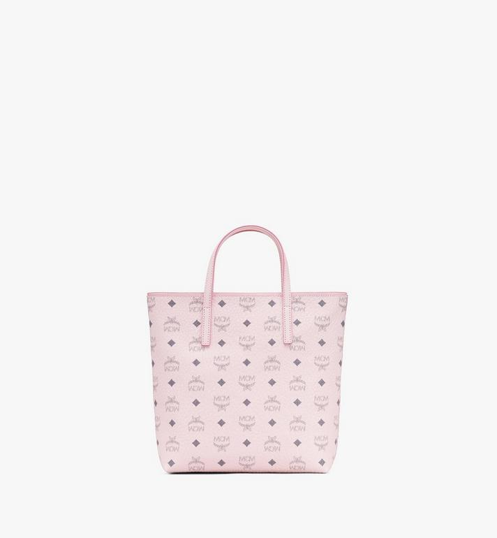 MCM Sac cabas Anya en Visetos Pink MWP9AVI77QH001 Alternate View 3