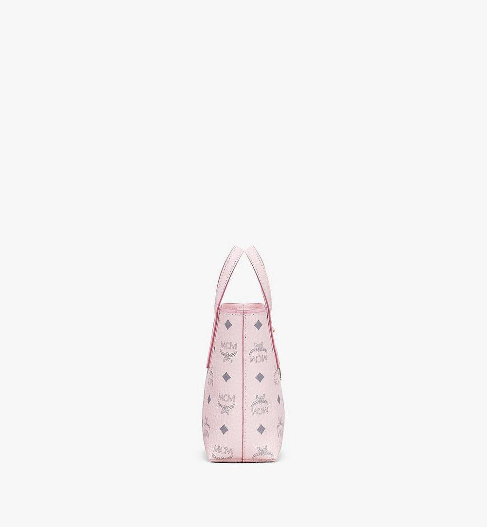 MCM Anya Shopper in Visetos Pink MWP9AVI78QH001 Alternate View 1
