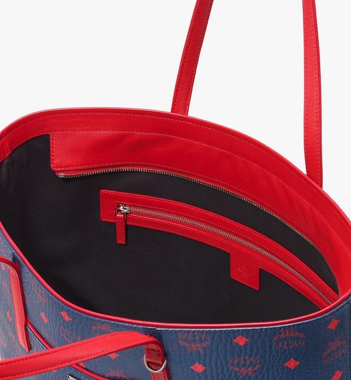MCM Anya Shopper in Visetos  MWP9AVI79VS001 Alternate View 4