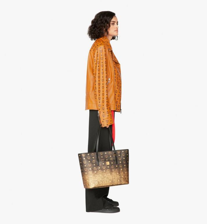 MCM Anya Shopper in Gradation Visetos Alternate View 5