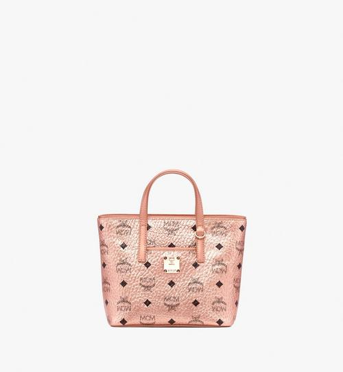Mini Anya Shopper in Visetos Champagne Gold | MCM® DE