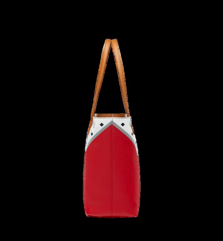 MCM Shopper Tasche mit Reissverschluss oben in M Move Visetos MWP9SCV10CD001 AlternateView4