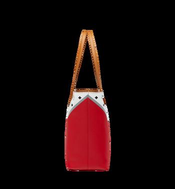 MCM Shopper Tasche mit Reissverschluss oben in M Move Visetos Alternate View 4