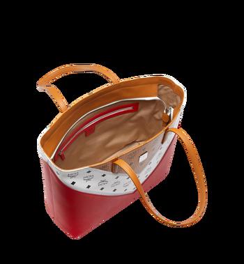 MCM Shopper Tasche mit Reissverschluss oben in M Move Visetos Alternate View 5