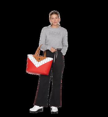 MCM Shopper Tasche mit Reissverschluss oben in M Move Visetos Alternate View 6