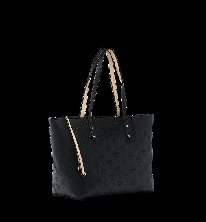 MCM Klara Shopper-Tasche aus Leder mit Monogramm AlternateView2