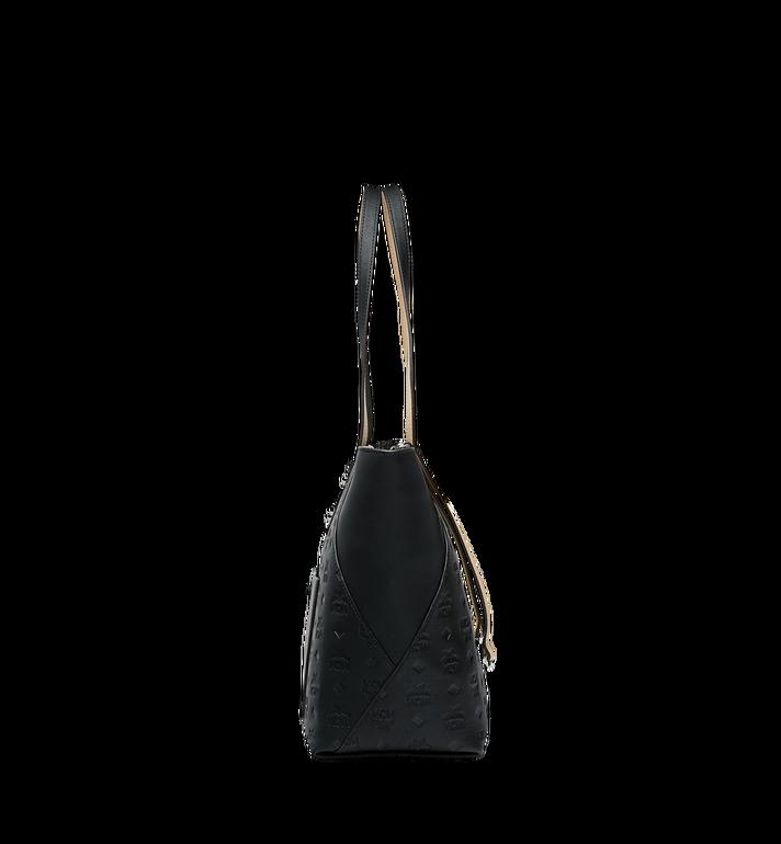 MCM Klara Shopper-Tasche aus Leder mit Monogramm AlternateView3