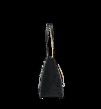 MCM Klara Shopper-Tasche aus Leder mit Monogramm Alternate View 3