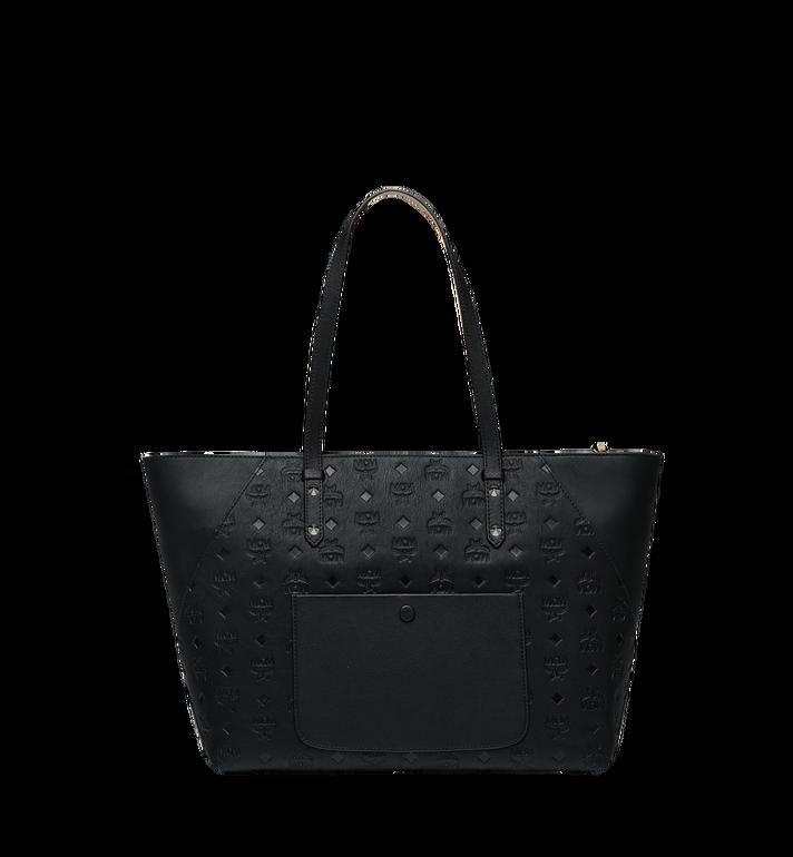 MCM Klara Shopper-Tasche aus Leder mit Monogramm AlternateView4