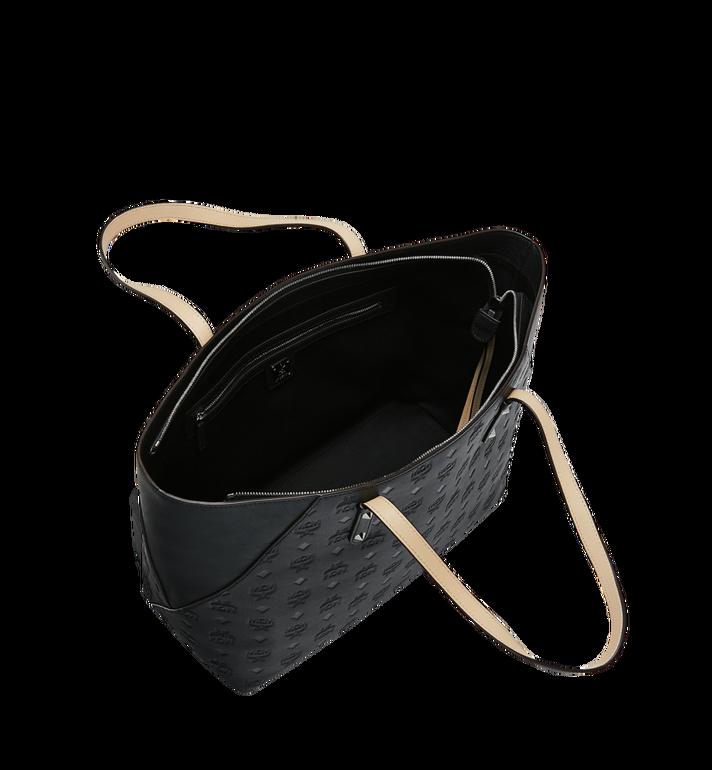 MCM Klara Shopper-Tasche aus Leder mit Monogramm AlternateView5