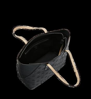 MCM Klara Shopper-Tasche aus Leder mit Monogramm Alternate View 5