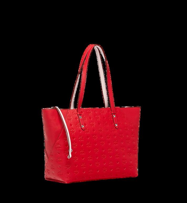MCM Klara Shopper-Tasche aus Leder mit Monogramm Alternate View 2