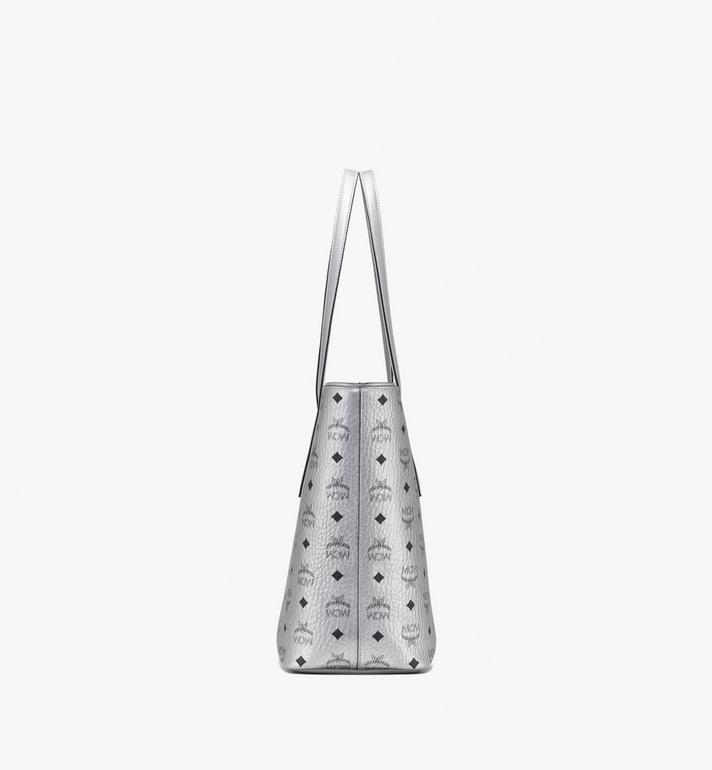 MCM Anya Shopper mit Reissverschluss in Visetos Alternate View 2