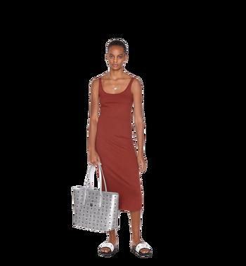MCM Anya Top Zip Shopper in Visetos Alternate View 6