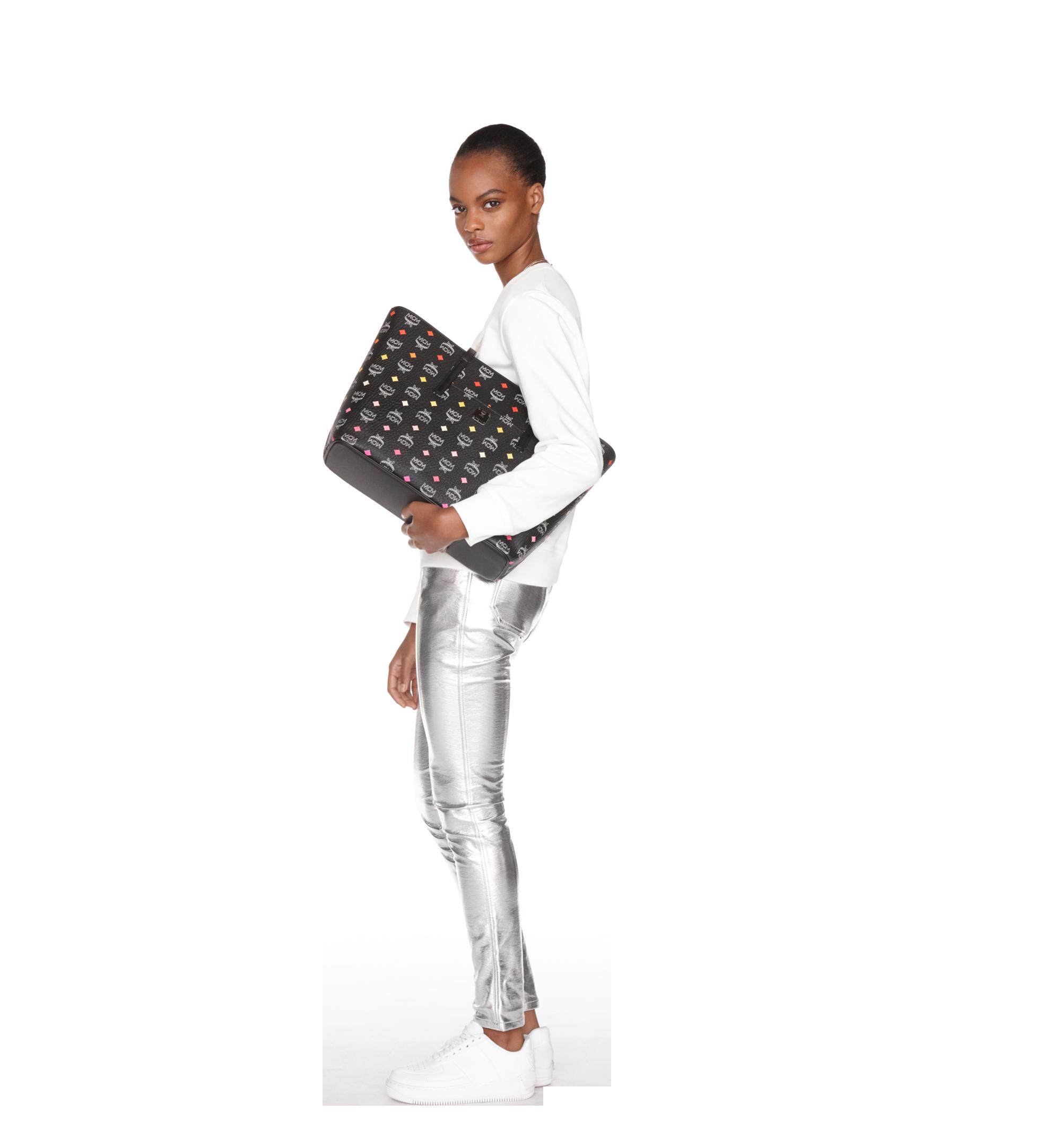 Medium Anya Shopper mit Reissverschluss in Spektrum Visetos