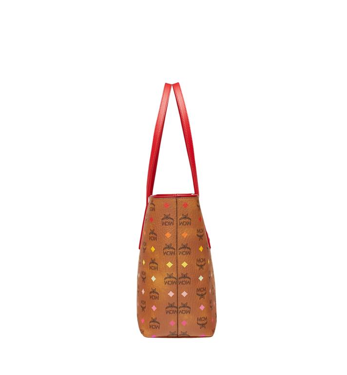 MCM Anya Shopper mit Reissverschluss in Spektrum Visetos Alternate View 3