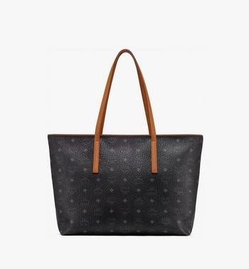 MCM Anya Shopper mit Reissverschluss in Visetos Alternate View 3