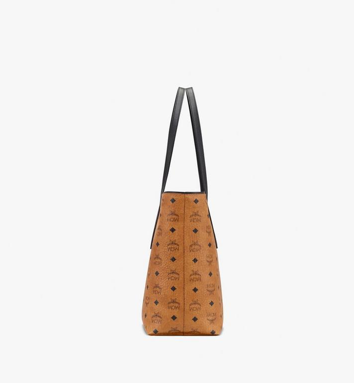 MCM Anya Top Zip Shopper in Visetos MWP9SVI61CO001 AlternateView2