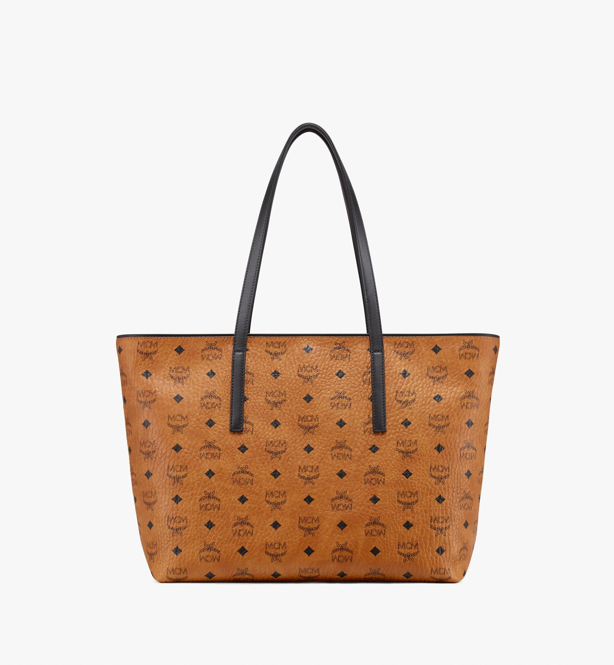 sac cabas cognac fermeture zippée