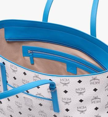 MCM Anya Shopper mit Reissverschluss in Visetos MWP9SVI61WT001 AlternateView4
