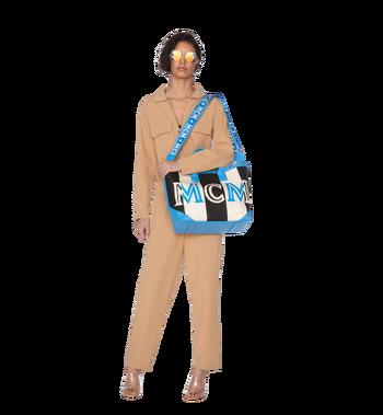 MCM Ilse Shopper in Canvas Alternate View 6