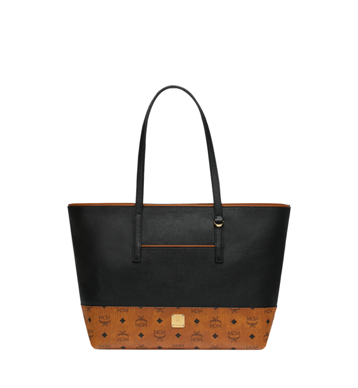 MCM Geonautic Shopper-Tasche aus Leder im Colorblock-Design Alternate View