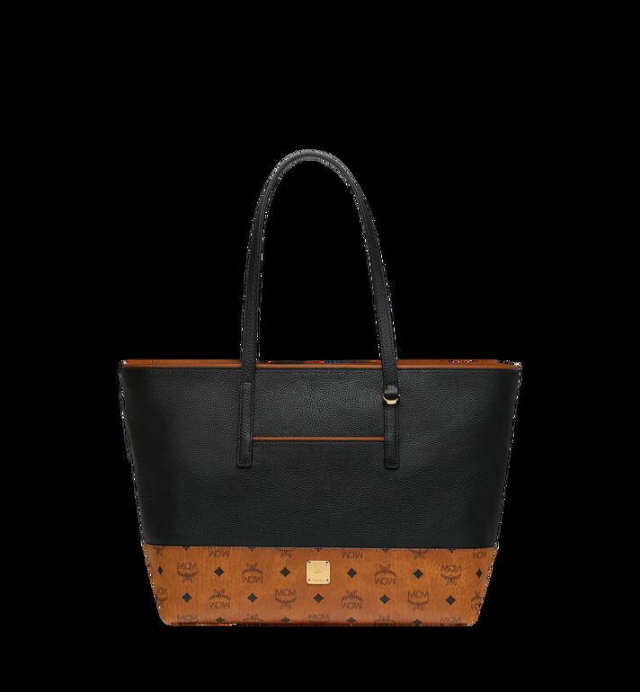 MCM Geonautic Shopper-Tasche aus Leder im Colorblock-Design AlternateView