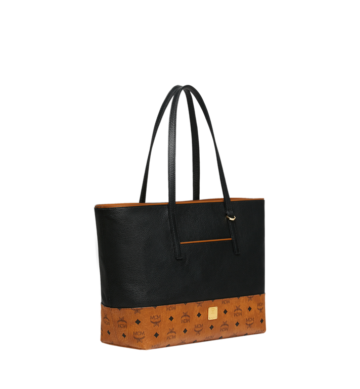 MCM Geonautic Shopper-Tasche aus Leder im Colorblock-Design Alternate View 2