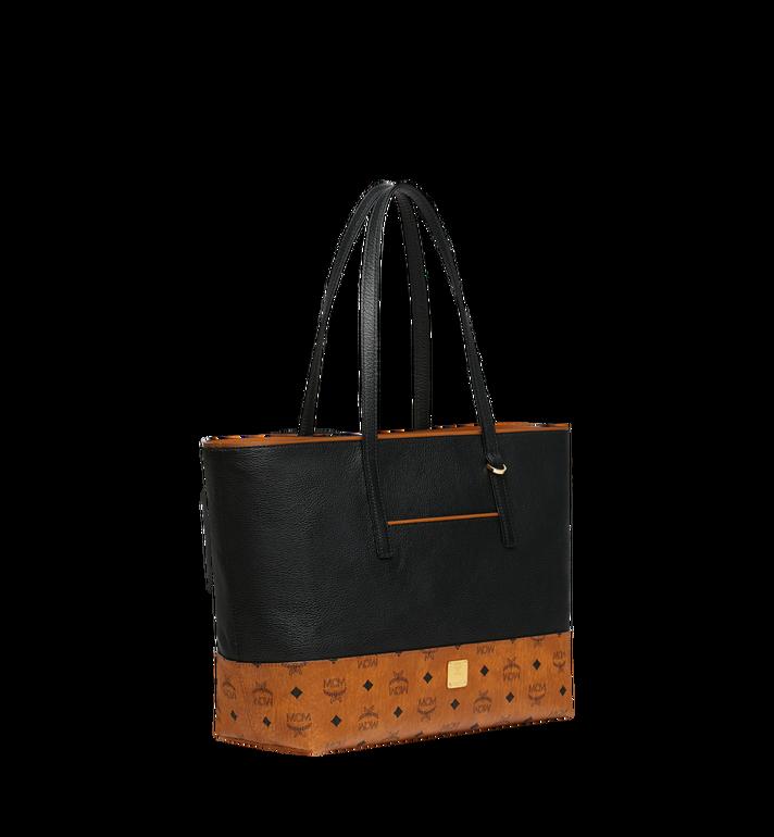 MCM Geonautic Shopper-Tasche aus Leder im Colorblock-Design AlternateView2