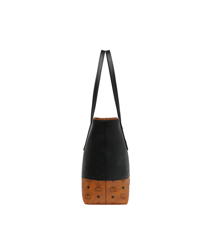 MCM Geonautic Shopper-Tasche aus Leder im Colorblock-Design Alternate View 3