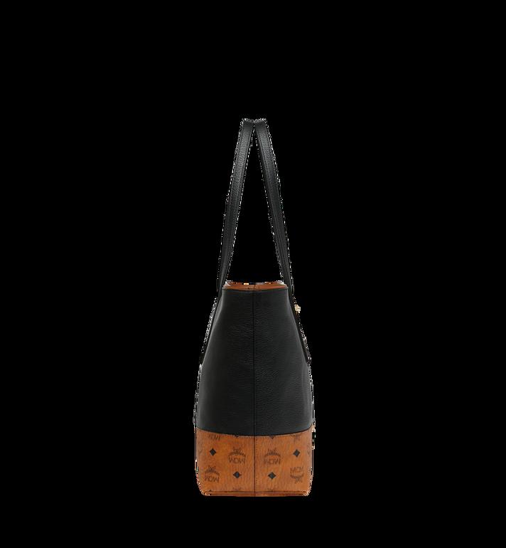 MCM Geonautic Shopper-Tasche aus Leder im Colorblock-Design AlternateView3