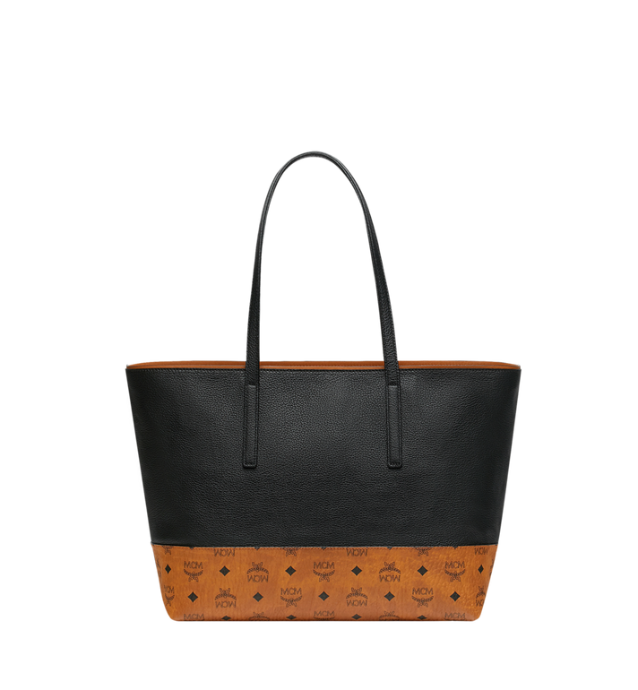 MCM Geonautic Shopper-Tasche aus Leder im Colorblock-Design Alternate View 4