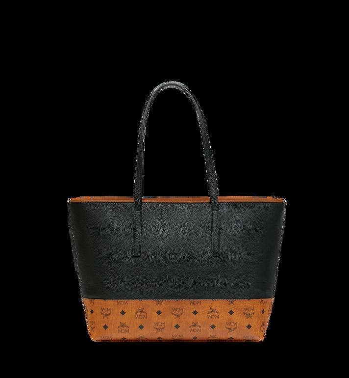 MCM Geonautic Shopper-Tasche aus Leder im Colorblock-Design AlternateView4