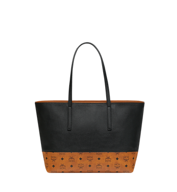 MCM Geonautic Shopper in Colorblock Leather AlternateView4