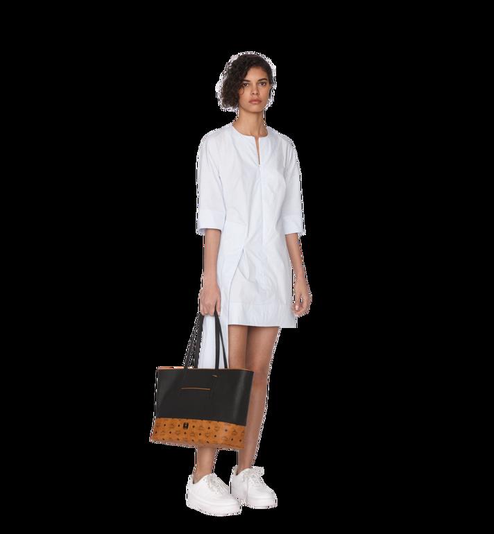 MCM Geonautic Shopper-Tasche aus Leder im Colorblock-Design AlternateView6