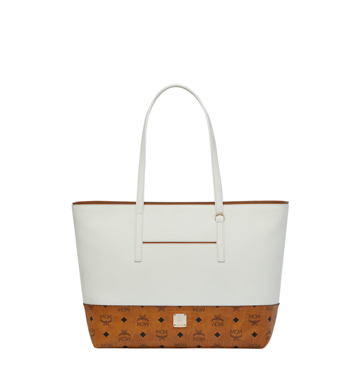MCM Geonautic Shopper in Colorblock Leather Alternate View