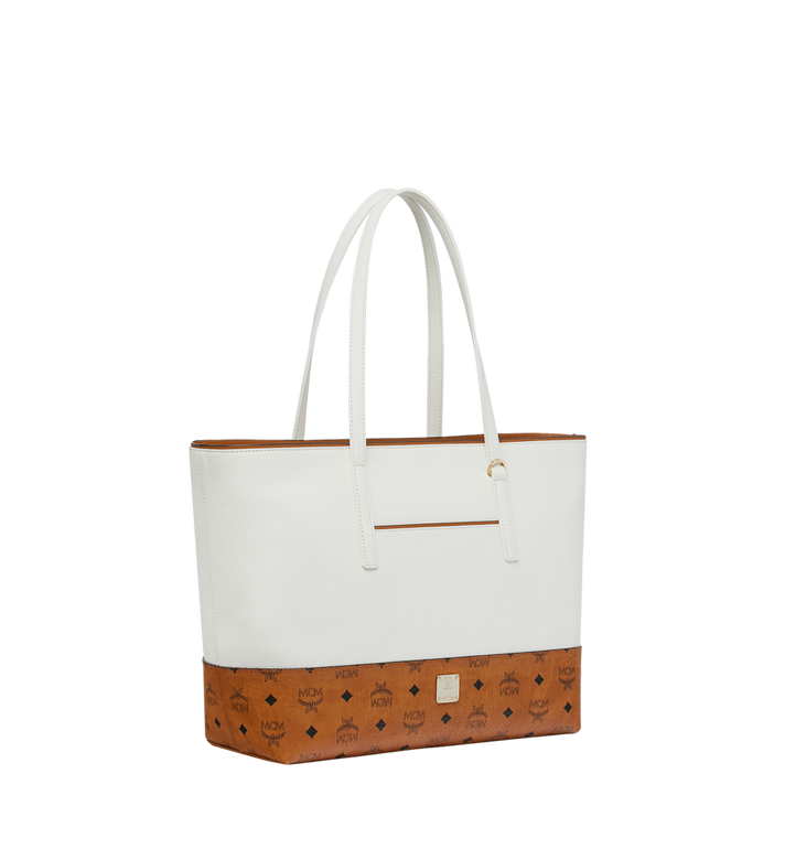 MCM Geonautic Shopper in Colorblock Leather Alternate View 2