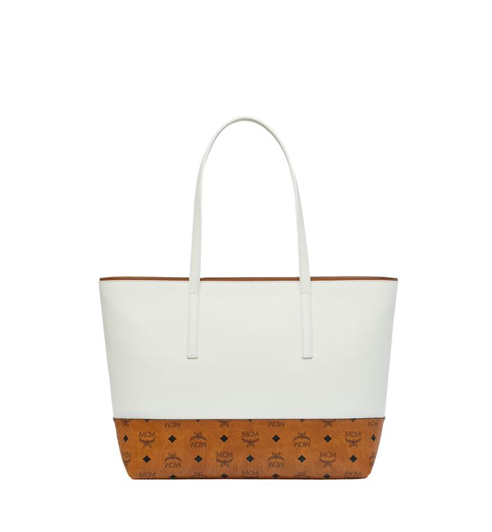 MCM Geonautic Shopper in Colorblock Leather Alternate View 4