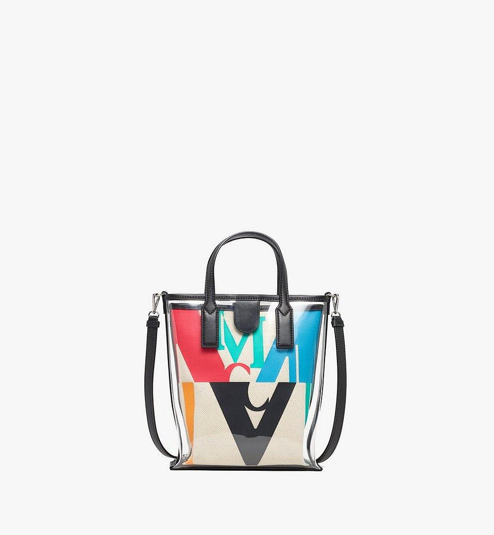MCM Shopper in Logo Glitch Hologram  MWPAAMH04MT001 Noch mehr sehen 1