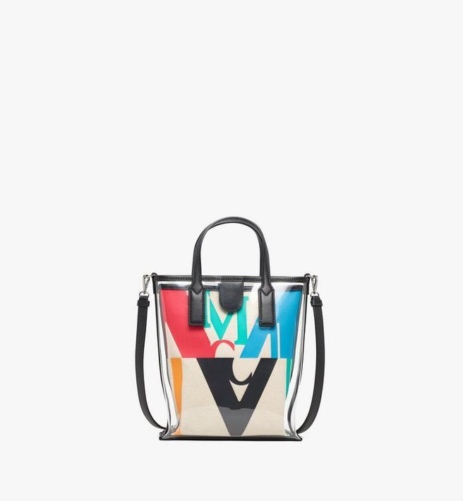 MCM Shopper in Logo Glitch Hologram Alternate View