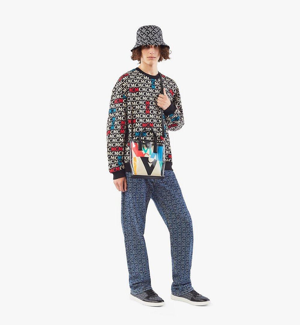 MCM Shopper in Logo Glitch Hologram  MWPAAMH04MT001 Noch mehr sehen 3