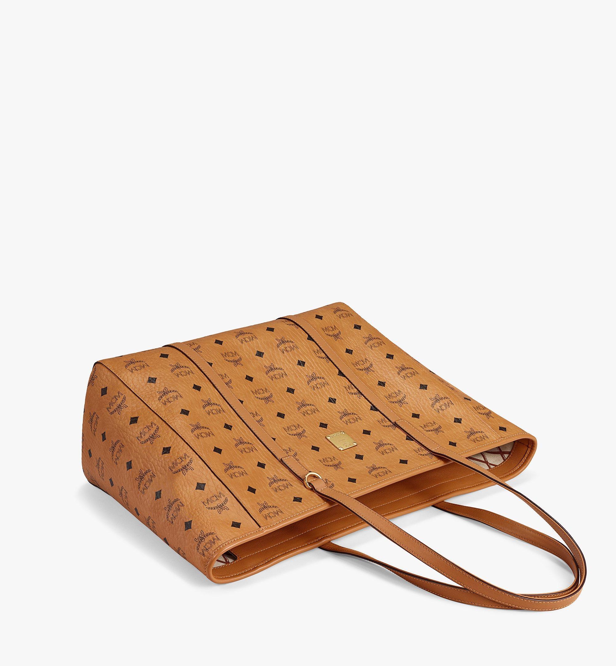 MCM Visetos 系列的 Toni 購物袋 Cognac MWPAATN01CO001 更多視圖 2