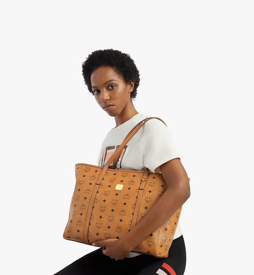 MCM Toni Shopper in Visetos Cognac MWPAATN01CO001 Alternate View 2