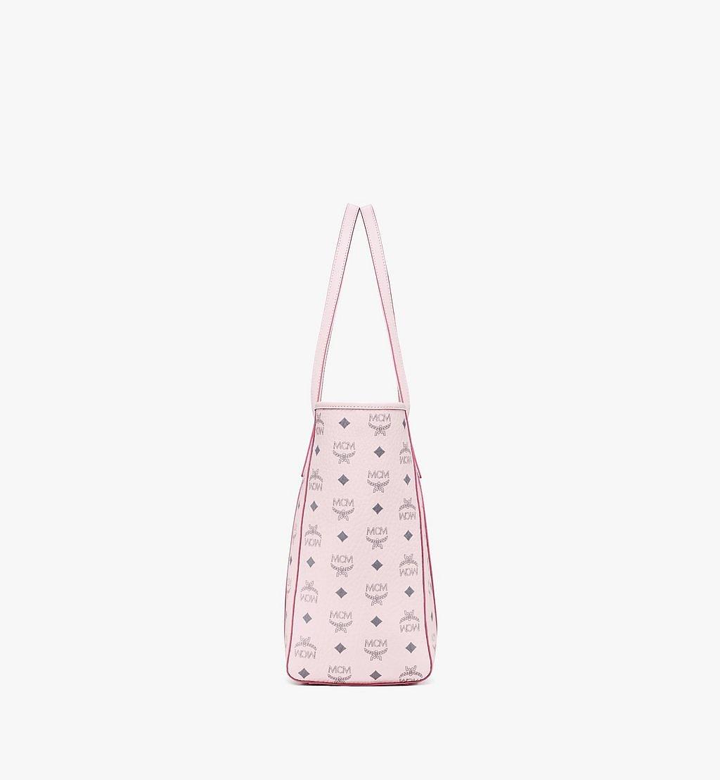 MCM Toni E/W Shopper in Visetos Pink MWPAATN01QH001 Alternate View 1