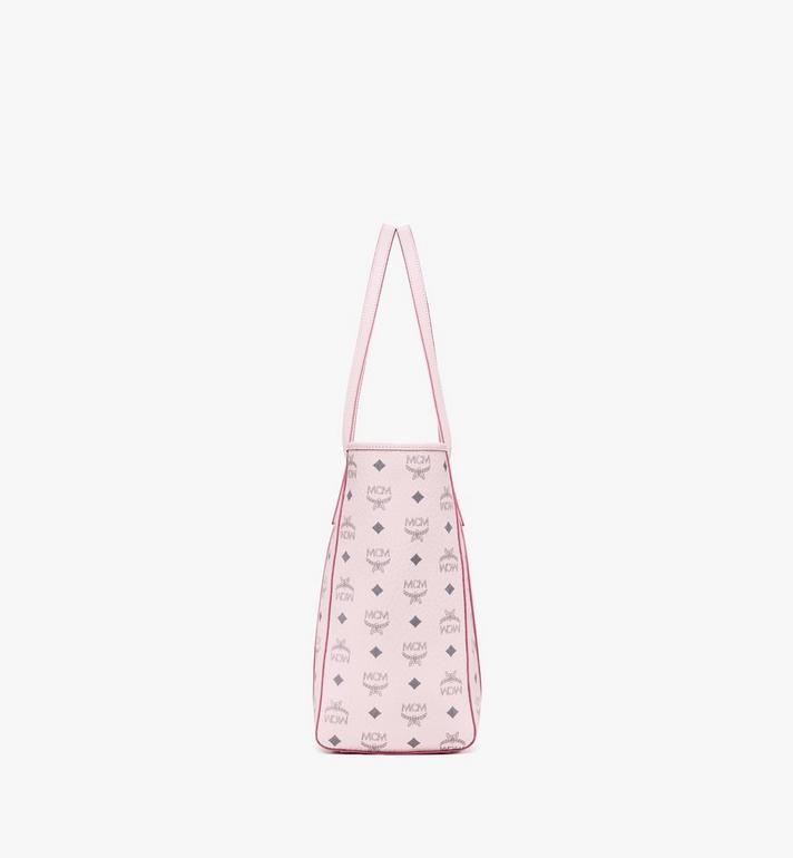 MCM Toni Shopper in Visetos Pink MWPAATN01QH001 Alternate View 2