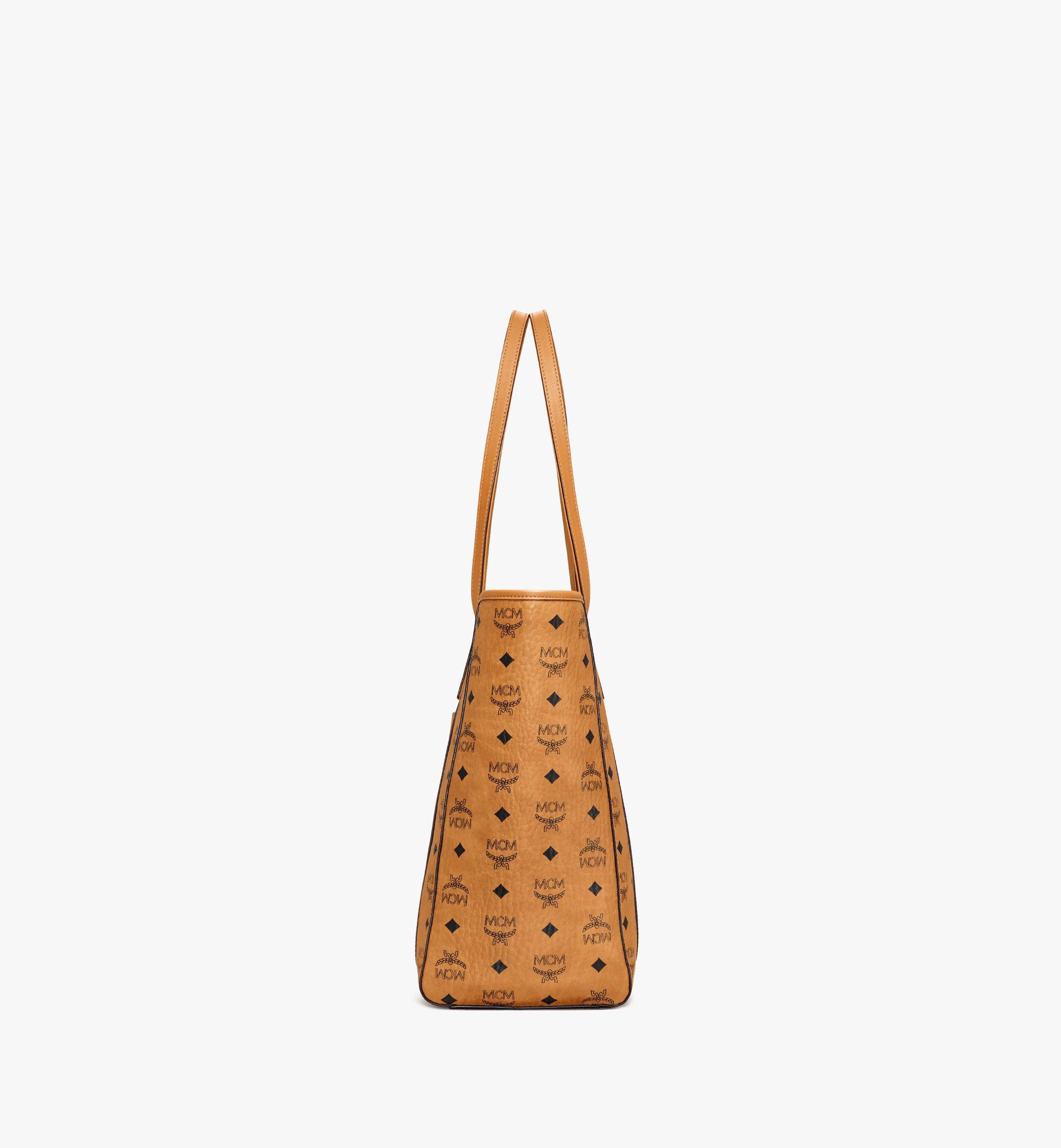MCM Visetos 系列的 Toni 購物袋 Cognac MWPAATN03CO001 更多視圖 1