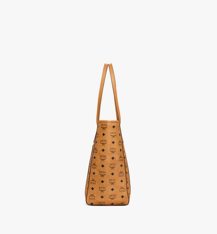 MCM Toni Shopper in Visetos Cognac MWPAATN03CO001 Alternate View 2